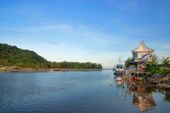 Village de pêche 02 Image libre de droits
