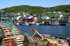 Village de pêche Photo stock