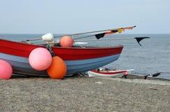 Village de pêche Photos stock