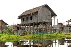 Village de pêche images libres de droits