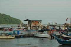 Village de pêche Photographie stock