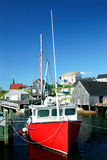 Village de pêche Images stock