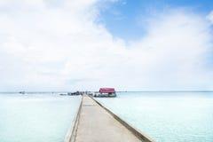 Village de pêche de Ham Ninh, mer agréable/plage dans Phu Quoc image stock