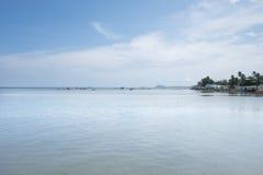 Village de pêche de Ham Ninh, mer agréable/plage dans Phu Quoc images stock