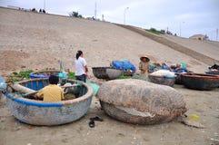 Village de pêche de Ne de Mui Images libres de droits