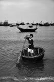 Village de pêche de Ne de Mui Photos libres de droits