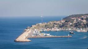 Village de pêche de Poyrazkoy de Beykoz, Turquie Photographie stock