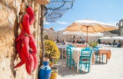 Village de pêche méditerranéen Image stock