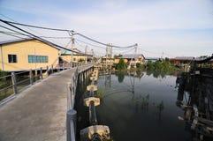 village de pêcheur Photo libre de droits