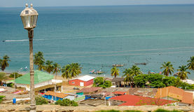 Village de pêcheurs Images stock