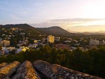 Village de Paguera, Majorque Image stock
