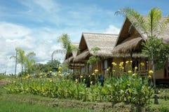 Village de pays de jardin Image libre de droits