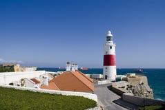 Village de phare Photos stock