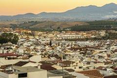 Village de Pizarra, province de Malaga, Espagne Photographie stock
