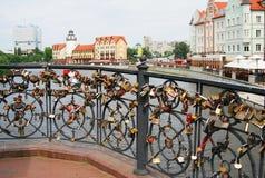 Village de poissons à Kaliningrad Images libres de droits