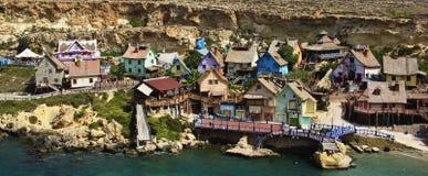 Village de Popeye Photos libres de droits