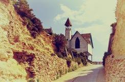 Village de Popeye, Malte Photographie stock libre de droits