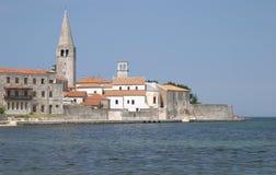 Village de Porec (Parenzo), Istra, Croatie image stock