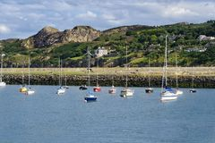 Village de port maritime de Howth, Irlande photographie stock libre de droits