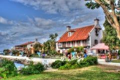 Village de port maritime, San Diego Image stock