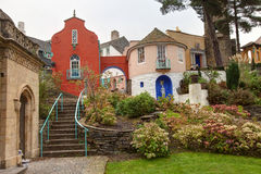 Village de Portmerion Images stock