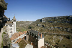 village de rocamadour Images libres de droits