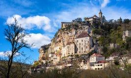 Village de Rocamadour, un bel héritage SI de culture du monde de l'UNESCO image libre de droits