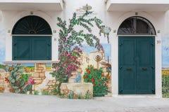 Village de RODI GARGANICO en Puglia Image libre de droits