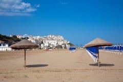 Village de RODI GARGANICO en Puglia Photographie stock libre de droits