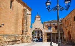 Village de San Clemente à Cuenca Espagne photo stock