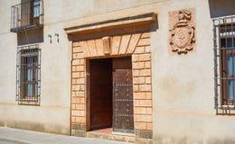Village de San Clemente à Cuenca Espagne image stock