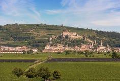 Village de Soave - province de Vérone - Vénétie Italie photo libre de droits