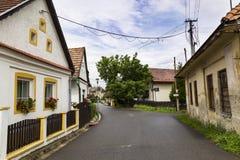 Village de station thermale de Liptovsky janv. slovakia images libres de droits