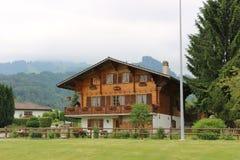 Village de Suisse de courrier escargot Photo libre de droits