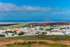 Village de Teguise Lanzarote images stock