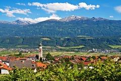 village de thaur de l'Autriche Photos stock