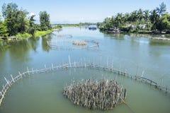 Village de Tra Que, province de Quang Nam, Vietnam Image libre de droits