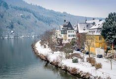 Village de Traben-Trarbach photographie stock libre de droits