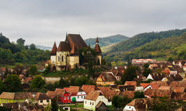 Village de Transylvanie Photos stock