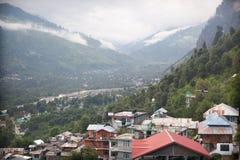 Village de Vashist Photographie stock