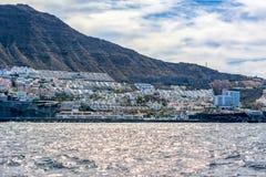 Village de visibilité directe Gigantes, Ténérife, Îles Canaries, Espagne photographie stock libre de droits