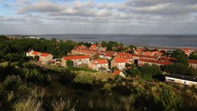 Village de Vlieland photos libres de droits