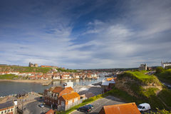 Village de Whitby Images stock