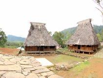 Village de Wologai Traditonal, Ende Image libre de droits