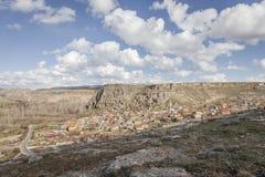 Village de Yaprakhisar dans Cappadocia Photo stock