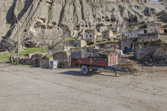 Village de Yaprakhisar dans Cappadocia Image stock