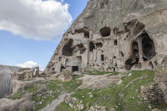 Village de Yaprakhisar dans Cappadocia Image libre de droits