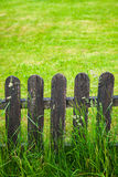 Village decorative fence Stock Photos