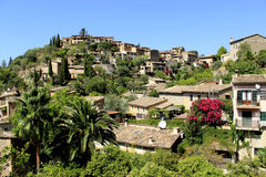Village Deia sur Majorque, Espagne Photographie stock