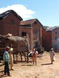 Village des montagnes malgache Image libre de droits